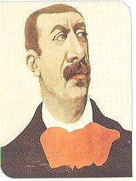 Caricature de Charles-Marie Widor