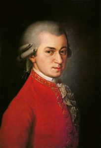 Portrait de Mozart