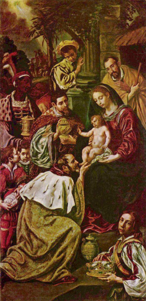 Adoration Mages - Luis Tristán de Escamilla