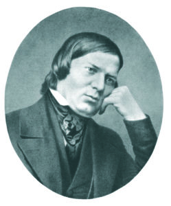 Portrait de SCHUMANN